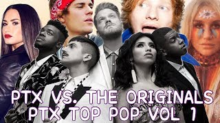 PENTATONIX VS. THE ORIGINAL | PTX TOP POP VOL.1 EDITION