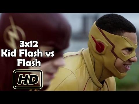 The Flash 3.Sezon 12.Bölüm The Flash vs Kid Flash