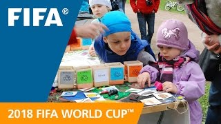 Russia 2018: Recycling programme a success at the Preliminary Draw