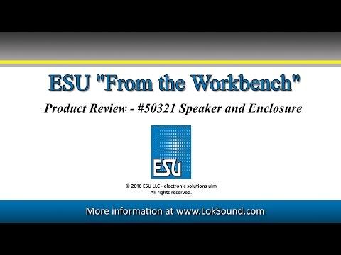 ESU #50321 Speaker And Enclosure