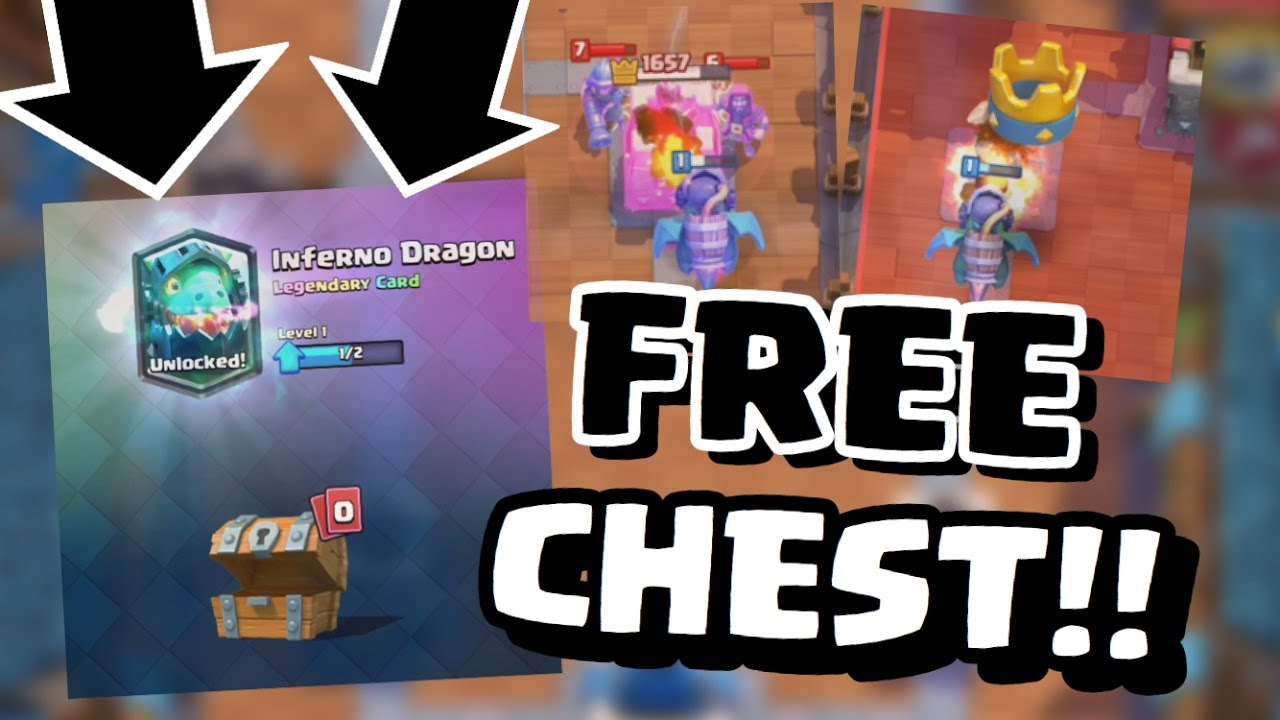 INFERNO DRAGON IN A FREE CHEST! | My 4th F2P Legendary ...