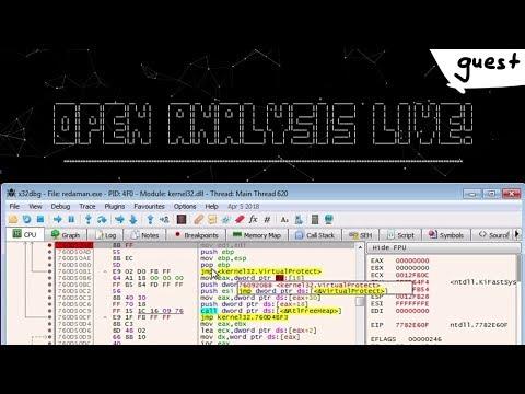 Unpacking Redaman Malware & Basics of Self-Injection Packers