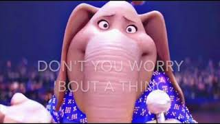 "Don't you worry bout a thing - ""Sing"" Movie - Karaoke Tori Kelly female version lower (-2)"