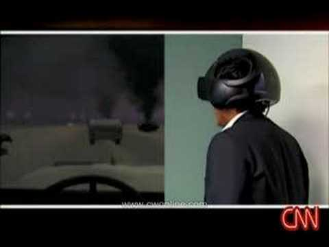 Virtual Reality - CyberWorld VR800-3D HMD on CNN  Virtual Therapy