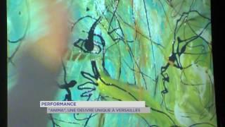 """Performance : """"Anima"""", une oeuvre unique à Versailles"""