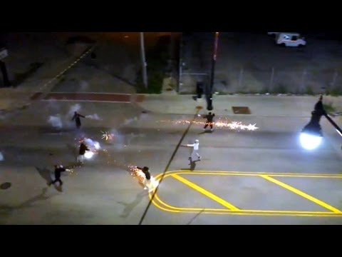 Residents Shoot Dangerous Roman Candle Fireworks at Each Other for Fun