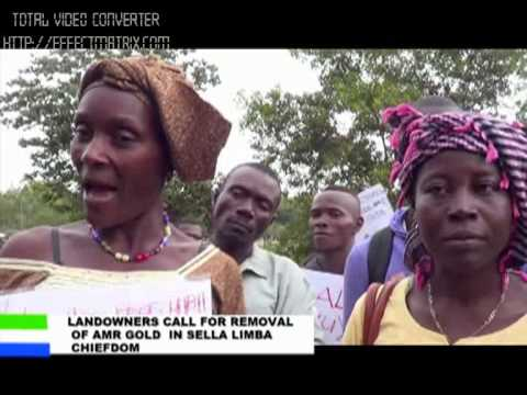 Landowners call for removal of AMR Gold in Sella Limba Chiefdom