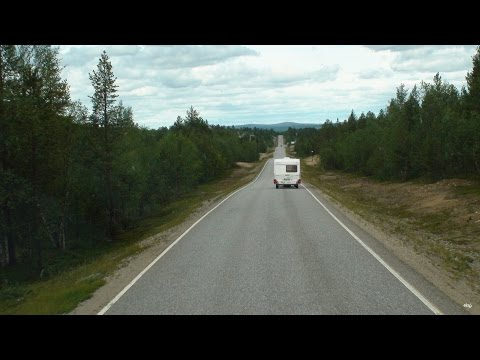 Lapland (From Rovaniemi to Lakselv) - Finland to Norway