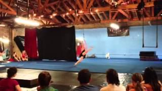 Aloysia Gavre at Cirque School Los Angeles 6-8-13