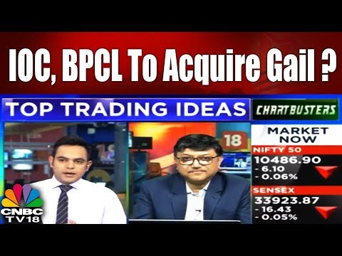 Top Buzzers : IOC, BPCL To Acquire Gail? | ChartBusters | CNBC-TV18