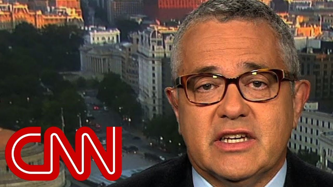 Jeffrey Toobin: Trump tweet may be impeachable