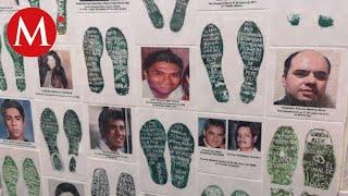 Familiares de desaparecidos protestan frente a la FGR