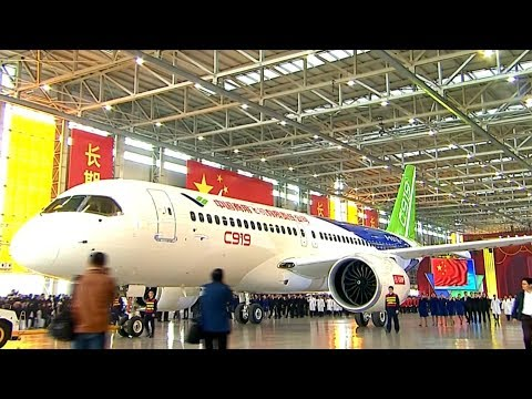How China's C919 passenger jet is assembled