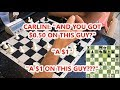 $1 Bet On Each Player! Last 5 Moves Are Brutal + Queen Sacrifice!