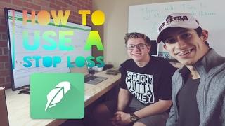 2 Simple Steps To Set A Stop Loss Trading Penny Stocks | Robinhood