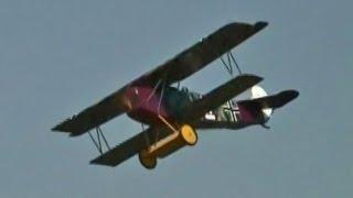 フォッカー大型ラジコン複葉機 Fokker D-llV