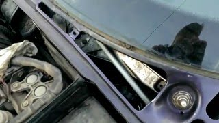 БМВ Е34 Ремонт трапеции дворников ч.1 BMW E34