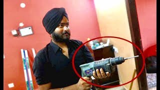 DRILLING PRANK ON LOVE RUDRAKASH !