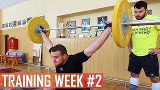 WEEK #2 / TOROKHTIY_GANG training program
