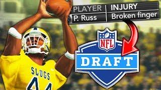 HEISMAN WINNER BREAKS FINGER BEFORE DECLARING FOR NFL!   NCAA 14 Banana Slugs Dynasty Ep. 65