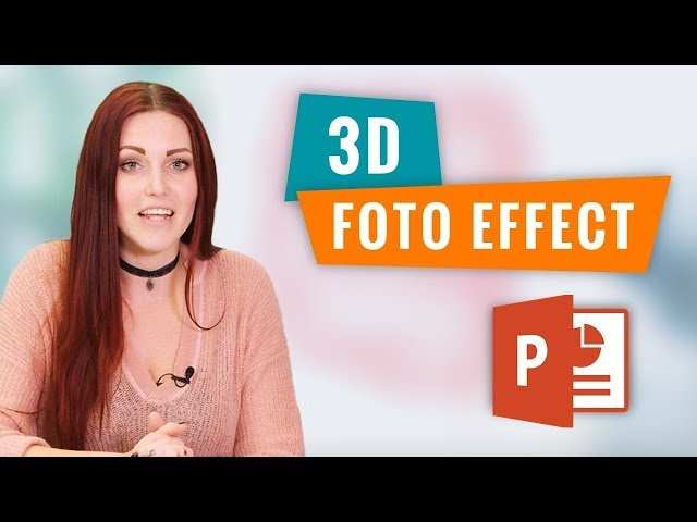 3D Foto effect in PowerPoint | PowerPoint How To | PPT Solutions