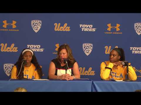 UCLA W. Basketball Postgame Press Conference - 11.21.17