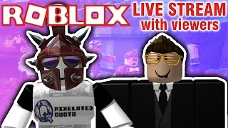 ROBLOX LIVE STREAM | PLAYING JAILBREAK, HIDE AND SEEK, and more! {EPISODE 102}