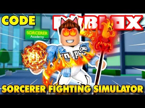 Roblox   NGÀY ĐẦU KIA NHẬP MÔN TẠI HỌC VIỆN PHÙ THỦY - Sorcerer Fighting Simulator (Code)   KiA Phạm