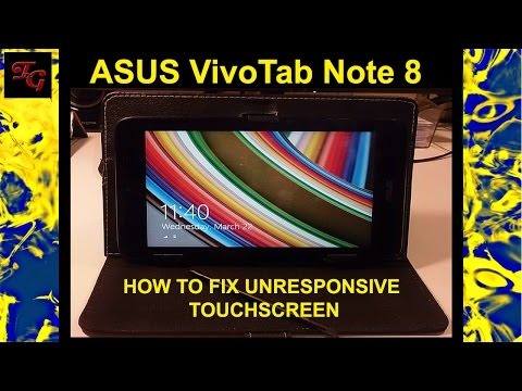 ASUS VivoTab Note 8 TOUCH SCREEN STOPPED WORKING - HOW TO FIX / REPAIR IT