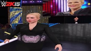 WWE 2K15 PC Mod: Lana as Divas Champion & Updated Lana Titantron!