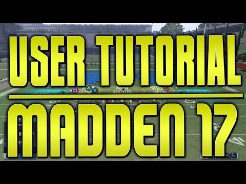HOW TO BE A GOOD USER DEFENDER IN MADDEN 17! USER D BASE FUNDAMENTALS! DEFENSE SPEED BOOST GLITCH!!