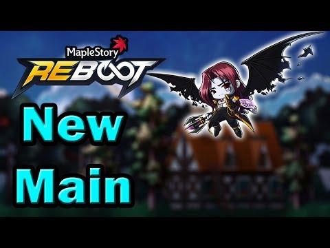 MapleStory My New Reboot DemonSlayer Main Pupsker!