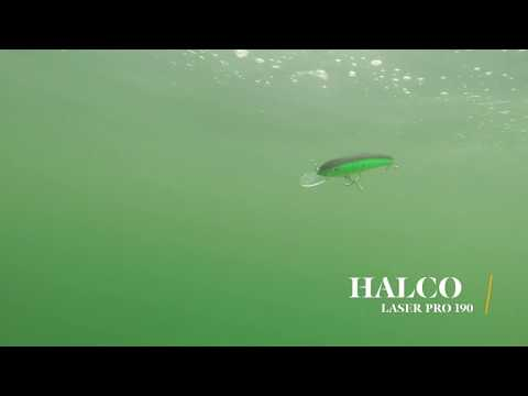 How Lures Swim: Halco Laser Pro 190