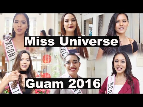 GUAM, Miss Universe 2016 contestants. グアム