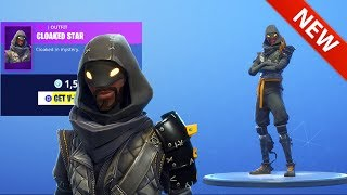*NEW* CLOAKED STAR SKIN IS HERE! [SHOP UPDATE] FORTNITE BATTLE ROYALE