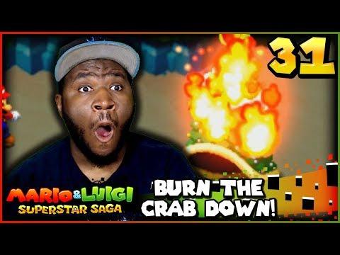 """Burn The Tree DOWN!!!""   Mario and Luigi Superstar Saga + Bowsers Minions w/ @PKSparkxx! - Part 31"