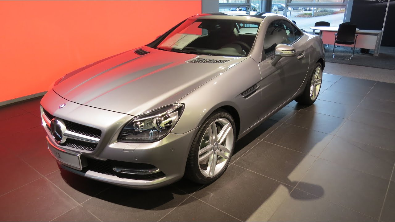 2015 mercedes benz slk 200 roadster be youtube. Black Bedroom Furniture Sets. Home Design Ideas