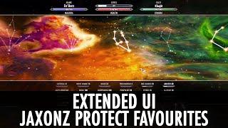 Skyrim Mod: Extended UI & Jaxonz Protect Favourites