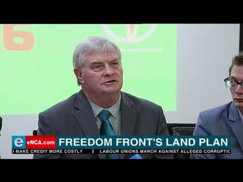 Freedom Front's Land Plan