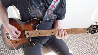 THE DARKNESS - SOLID GOLD (Rhythm Guitar Cover)