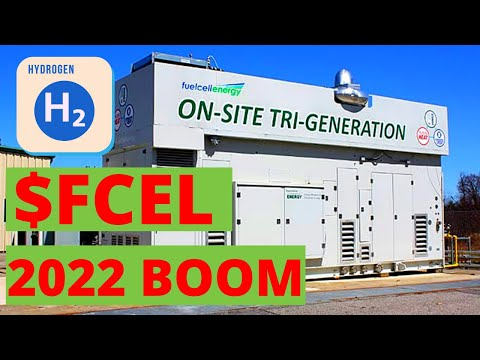 $FCEL Hydrogen BOOM in 2022!!!!   Fuel Cell Energy Inc.   Gematria Stock Research