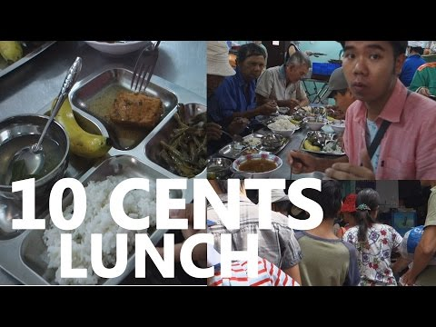 Cheap Vietnamese Food for 10 cents in SAIGON, WOW!