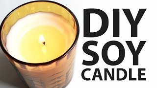 DIY| How To Make A Soy Candle
