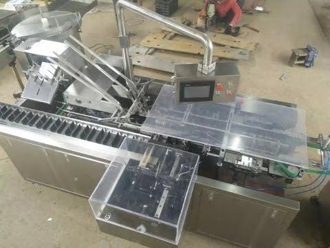 automatic pencil cartoner equipment with feeder wax crayon packing  machine,máquina de encartonado