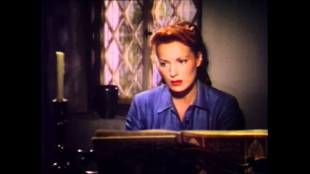 "画像: Maureen O'Hara In ""The Quiet Man"" youtu.be"