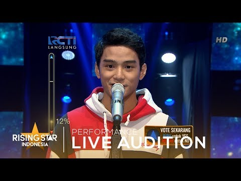 Muhammad Zayyan 'Topik Semalam' | Live Audition 3 | Rising Star Indonesia 2019