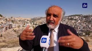 سلطات الإحتلال تسرع في تنفيذ القطار الهوائي في القدس المحتلة - (1-12-2017)