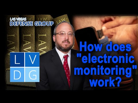"How does ""electronic monitoring"" work in Nevada?"