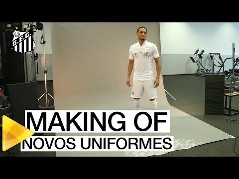 Novos Uniformes do Santos FC | MAKING OF