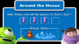 Monsters, Inc. Game Boy Advance Playthrough